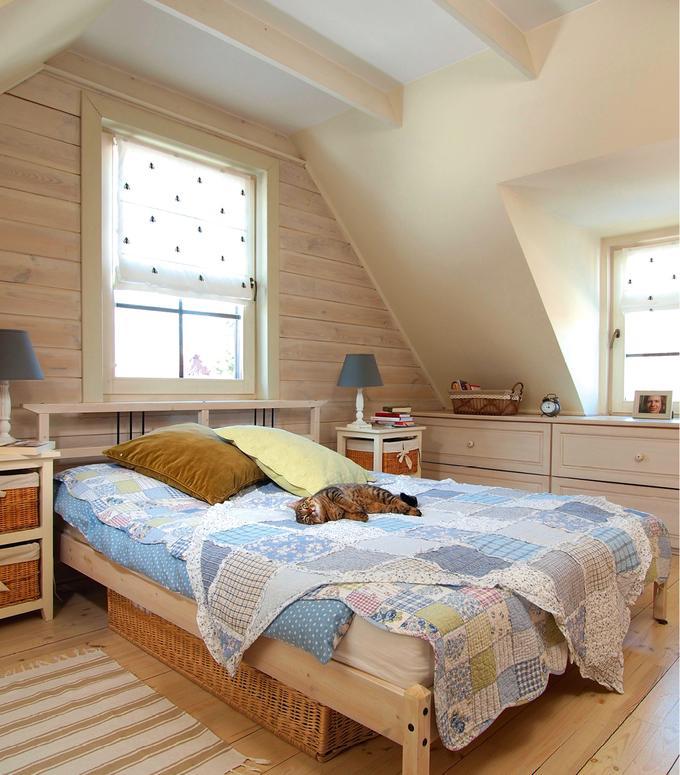 Przytulny pokój na poddaszu